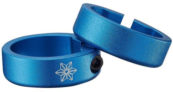 Supacaz Star Ringz Klemmringe blau